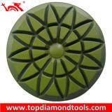 Polissage de diamants d'obligations de la résine des plaquettes pour le polissage de plancher de béton