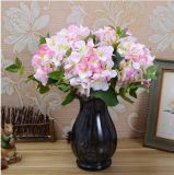 La production de masse Gergeous Fleurs en soie artificielle de gros de l'hortensia Hydrangea