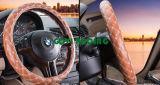 Het oranje Stuurwiel van de Auto van pvc van het Leer behandelt Algemeen begrip 380mm