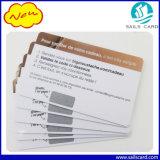 PVC 플라스틱 찰상 카드, 핀 번호 찰상 카드