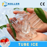 10 da câmara de ar de gelo da máquina toneladas de forma do cilindro para beber (TV100)
