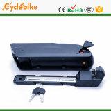 Batteria di ione di litio della E-Bici del tubo di stile 36V 10.4ah Samsung dello squalo di tigre giù