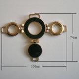 La aleación del cinc calza el hardware Decoations de cadena, ornamentos decorativos de los zapatos
