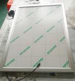 DEL annonçant le cadre léger mince d'étalage d'affiche avec le bâti instantané