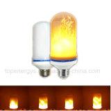 낭만주의 정원 벽 램프를 위한 110-240V E27 초 화재 훈장 광원