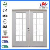 頑丈で新しいデザイン半月のガラス木のドア