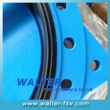 Червячная передача работает двухстворчатый клапан с высоким качеством и низкой цене