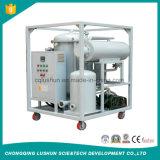 Purificador de aceite caliente de la turbina del vacío de la venta con la filtración