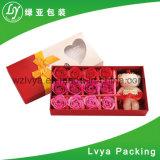 Caixa de embalagem de papel cosméticos de luxo com impressão personalizada