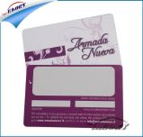 Cartão da lealdade do cartão da sociedade do PVC do standard alto do produto da fábrica