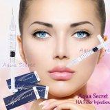 Rejuvenescimento cutâneo secreto da pele do enchimento do ácido hialurónico do Aqua