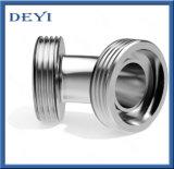 Aço inoxidável 45° higiénica do cotovelo do tubo de rosca macho