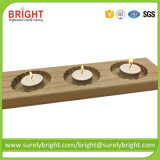 Matériau bois bougeoirs bougies avec Tealight