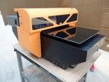 Impresora de cristal de madera plana ULTRAVIOLETA del metal de la impresora de la inyección de tinta LED