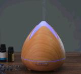 2018 difusor novo do petróleo essencial do aroma da chegada 300ml, humidificador fresco da névoa com mudança clara de 7 diodos emissores de luz