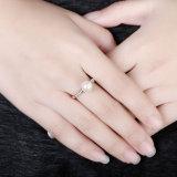In het groot nam de Gouden Geplateerde Juwelen van de Manier van de Ring van de Vrouwen van de Parel toe