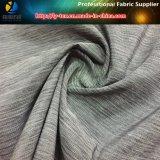 Jacquardwebstuhl-Heidekraut-graues hohes elastisches Gewebe für Kleid
