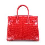 Изготовленный на заказ роскошный мешок повелительницы Конструктора Сумки Неподдельн Крокодила кожаный