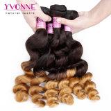 Haar van de Golf van de Wholesale Peruvian Hair Ombre Kleur T1b/30 van het Haar van Yvonne het Losse