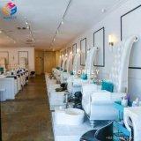 Hot vendre pédicure chaises avec plate-forme du bassin de pied de lumière à LED