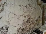 Bianco Anticoの花こう岩の平板のタイル
