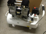 Silencio Oil-Free 1.5HP compresor de aire para equipos médicos o dentales