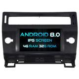 Auto DVD des Witson acht Kernandroid-8.0 für Citroen C4 4G Touch Screen 32GB ROM-1080P Bildschirm ROM-IPS