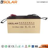 埋められるIsolar 60W 8m電池太陽LEDの街灯をつける