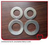 스테인리스 304 316 편평한 세탁기 DIN125, Uss, SAE M1.6-M160