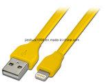 고속 증명된 Apple 8 Pin 편평한 번개 Sync 책임 USB 케이블 코드 Ios
