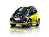 De goede Elektrische MiniAuto van de Voorwaarde met 4 Wielen 2 Deuren