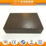 aluminio de la garantía 10years/aluminio/perfil de la protuberancia de Aluminio con el tratamiento que pinta (con vaporizador) del polvo