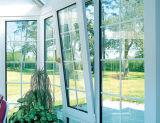 [ووودوين] ألومنيوم ميل ودورة نافذة مع ناموسة شاشة