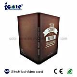 prix d'usine ! 5 pouces LCD Brochure-Video Carte vidéo pour la publicité