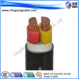 Bainha em PVC Isolados em XLPE cabo de alimentação