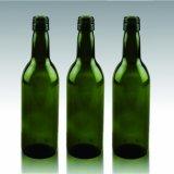 187ml深緑色のガラスビン、Redwineのびん