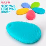 Cinco cores suaves Escova de cozinha de Silicone sem BPA