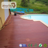 Decking de madeira do Ipe Brasil do projeto ao ar livre com sistema do suporte