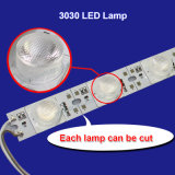 2700-12000K calentar/Natural/Cool/Barra de luces de color blanco puro 18PCS 3030 Lámparas Chips placa rígida de las luces de LED DE TIRA