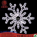LEDの照明雪片ロープライトクリスマスXmasの木の装飾の豆電球