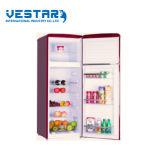 Rétro réfrigérateur de porte simple rouge avec l'usage populaire