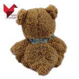 Unstuffed Stuk speelgoed van de Teddybeer van de Pluche Bruine voor Kinderen DIY