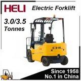 低価格の小型1.5/2/2.5/3トン電池の電気フォークリフト