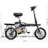 E-Bike алюминиевого сплава 14inch складывая с извлекает батарею