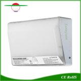 LED de luz solar al aire libre alimenta la lámpara del sensor exterior Rechargeble Lampara