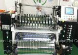 Automatisches metallisiertes Film-Film PET/Haustier-Welle geformte aufschlitzende Maschine mit flachem Messer