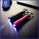 Brillante Flash Micro Keychain luz láser Mini LED llavero