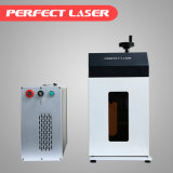 Горячая машина маркировки лазера волокна сбывания с Enclosed клобуком