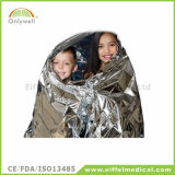 Alumium使い捨て可能なホイルのIsothermic緊急の存続毛布