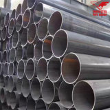 Tubo d'acciaio galvanizzato del TUFFO caldo ERW dei materiali da costruzione del fornitore Dn50 di Tianjin Cina per la serra